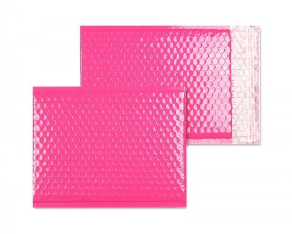 Luftpolstertaschen rosa glänzend - 200 x 250 mm - 10 Stück