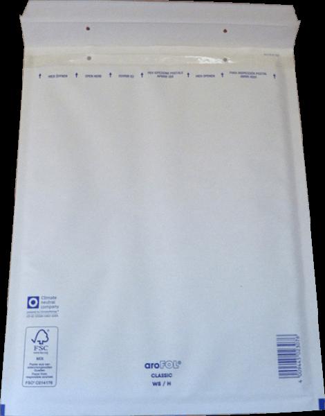 Luftpolstertasche H-8 weiß 290 x 370 mm - 100 Stück Arofol