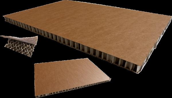 Wabenplatte 600 x 400 x 20 mm - 1/4 Palettenmaß