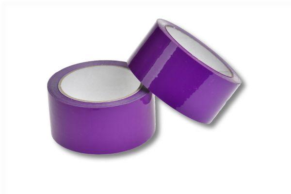 Klebeband 50 mm x 66 lfm. - PP violett | VE 36 Stück