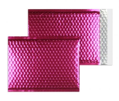 Luftpolstertaschen rosa glänzend - 340 x 460 mm - 10 Stück