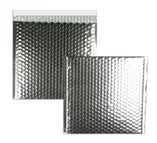 Luftpolstertaschen silber glänzend 170 x 185 mm - 10 Stück