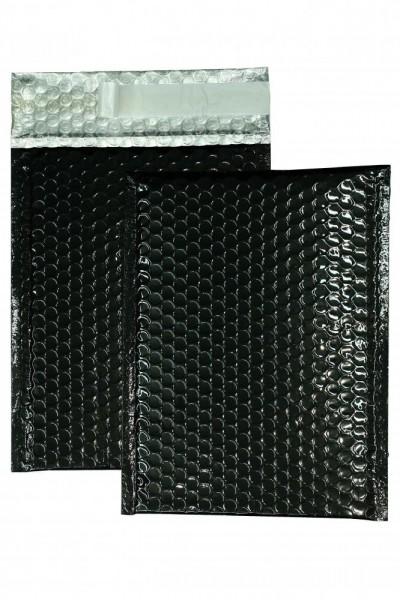Luftpolstertaschen schwarz glänzend 250 x 334 mm DIN A4 - 10 Stück