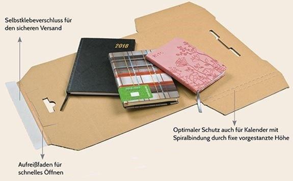KP130 - Kalenderpac - 428 x 305 x 10 - A3 Kalenderverpackung