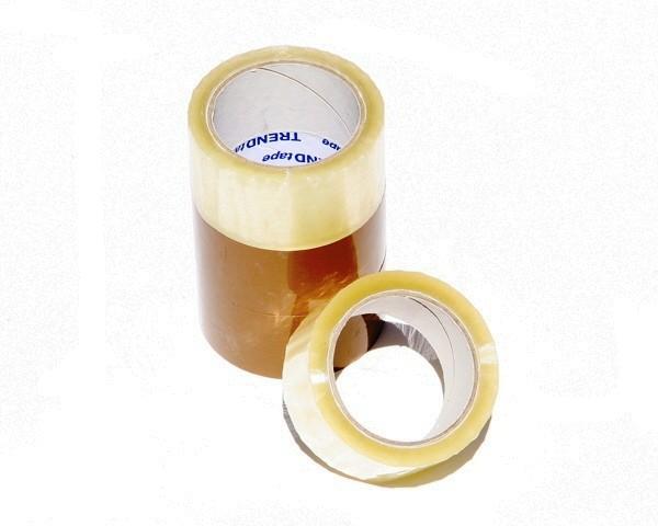 Klebeband 50 mm x 66 lfm. - PVC transparent - Monta pack 283