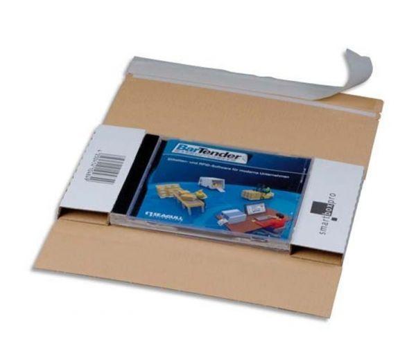 Versandtasche CD-JEWEL DIN lang - Außenmaß 228 x 130 x 17 mm