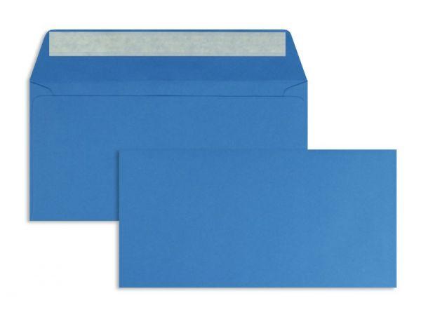 Briefumschlag 110 x 220 mm (DIN Lang) - 100 Stück / VE - Blau