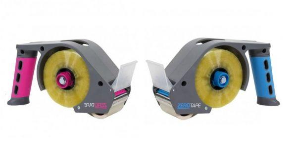 .ZEROTAPE® Komfort-Handabroller magenta / blau