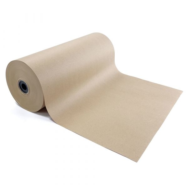 Kraftpapier Breite 50 cm x ca. 300 lfm, ca. 12,5 kg, 80g/m²