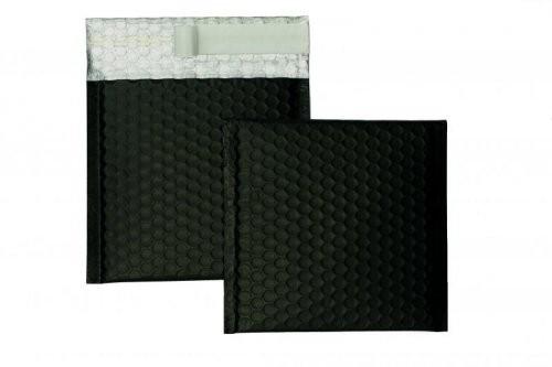 Luftpolstertaschen schwarz matt 170 x 185 mm - 10 Stück