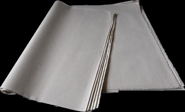 PACKSEIDE - Schrenzpapier GRAU 37,5 X 50 CM, 12,5 Kg - 25 g/m²