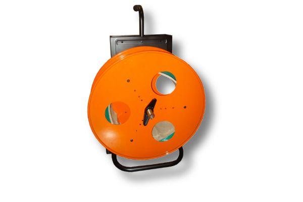 Abrolllwagen für PET + PP Bänder - 406mm Kern