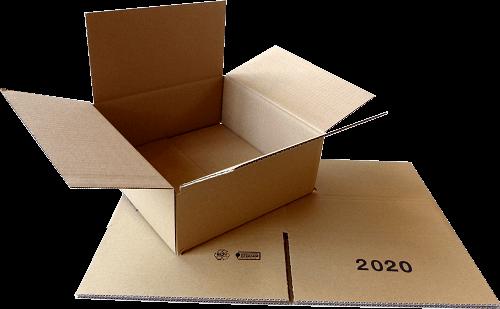 Faltkiste 242 x 242 x 85 mm - Hermes S-Paket/DHL-Päckchen