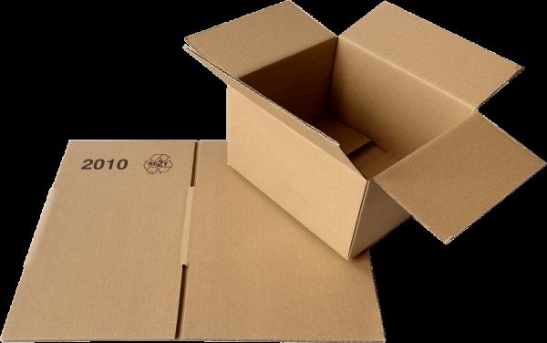 Faltkiste 210 x 180 x 120 mm - Hermes S-Paket/DHL-Päckchen