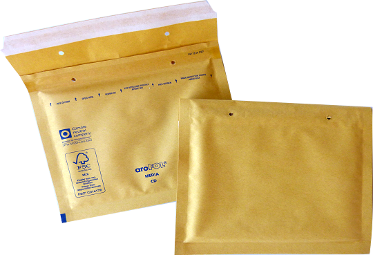 CD Luftpolstertasche 200 x 175 mm - 100 Stück Arofol
