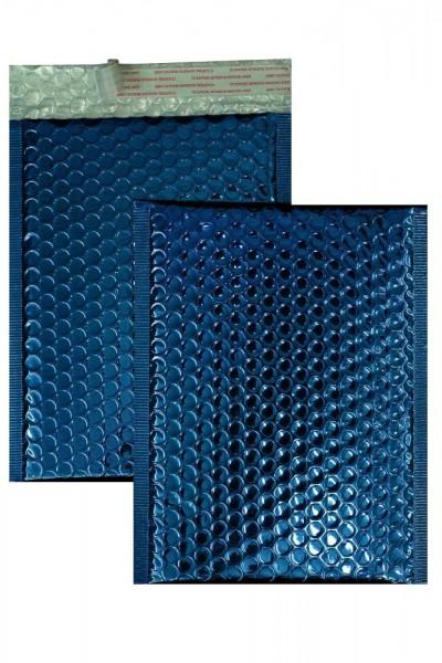 Luftpolstertaschen blau glänzend - 200 x 250 mm - 10 Stück