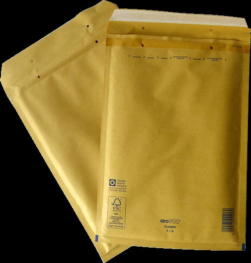 Luftpolstertasche G-7 / 250 x 350 mm - DIN A4 - 100 Stück Arofol