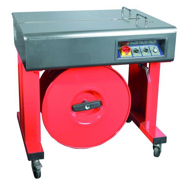 Halbautomatische Umreifungsmaschine - elektronische Bandspannung