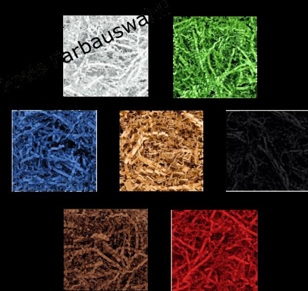 farbiges Papierfüllmaterial - 10kg