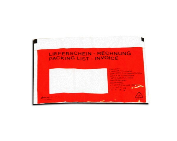 *250 Dokumententaschen DIN C6 - Format 175 x 110 mm