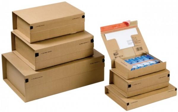 CP066.02 Paket Versandkarton 215 x 155 x 43 mm - DIN A5+