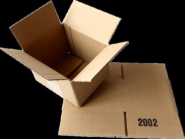 Faltkiste 150 x 125 x 100 mm - Hermes S-Paket/DHL-Päckchen