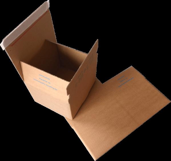 210 x 180 x 130 mm Blitzbodenkarton Packfix PF26