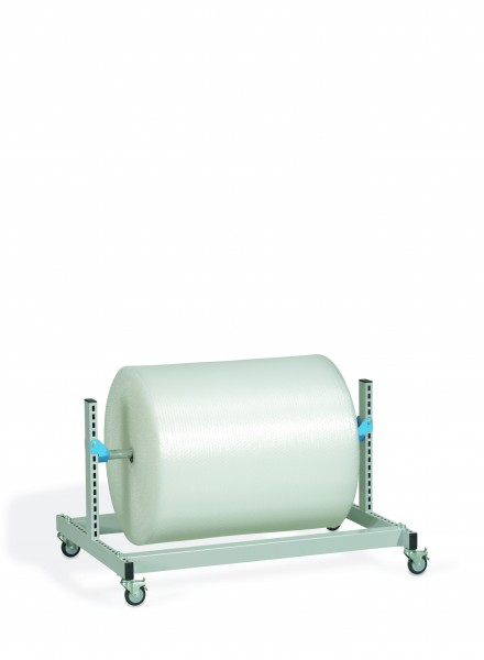 Abrollbock fahrbar Breite 1250 mm, gebremst