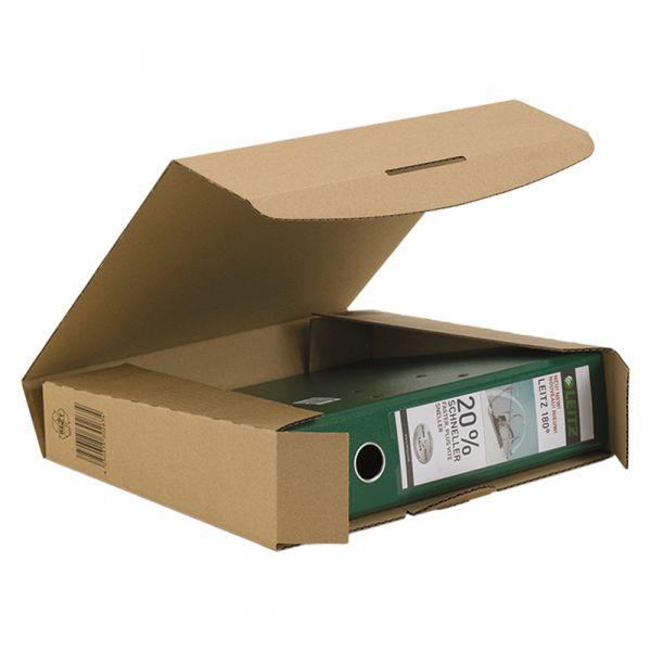 Ordner-Transport-Box für DIN A4 - 80 mm Rückenhöhe