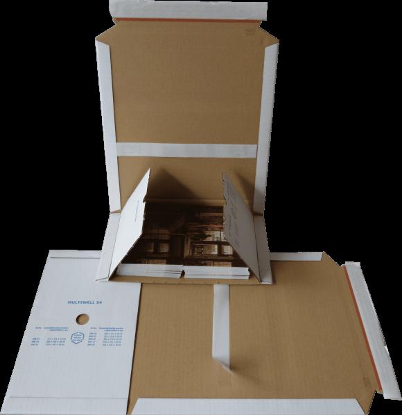 MW54 WEISS DIN A5+ - 245*165*20-70 mm Buchverpackung