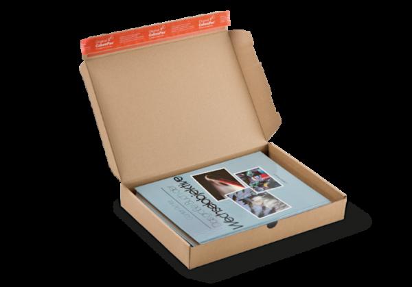 CP080.09 Modulbox 9 braun - IM 335 × 244 × 44 mm - Maxibrief