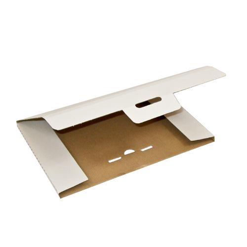 340 x 240 x Höhe 1 bis 14 mm weiß - Steckverschluss - Großbrief