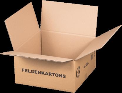 """15"""" Felgenkarton - 420 x 420 x 215 mm"""