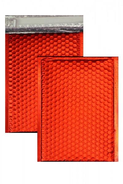 Luftpolstertaschen rot matt - 200 x 250 mm - 10 Stück