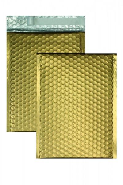 Luftpolstertaschen gold matt - 200 x 250 mm - 10 Stück