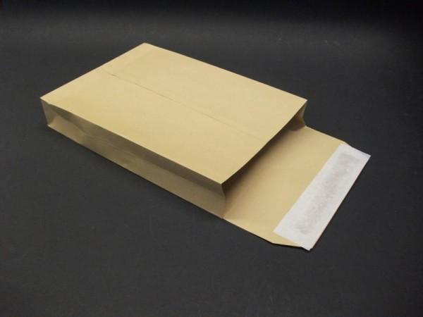 Faltentasche braun 162 x 229 x 25 mm DIN C5 - 125 Stück