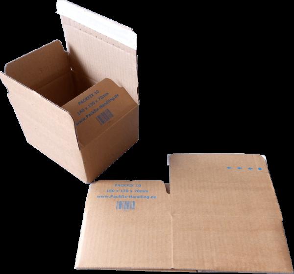 160 x 130 x 70 mm Blitzbodenkarton Packfix PF10