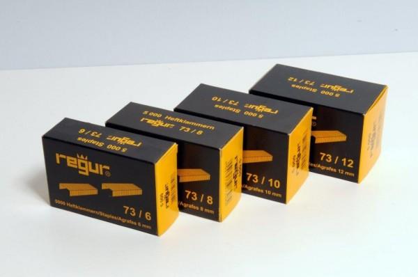 Flachdrahtheftklammern Regur® 73/12 - 12 mm / 5000 Stück