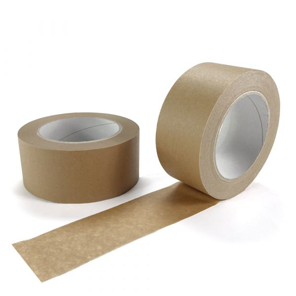 Papierklebeband 50 mm x 50 lfm. - braun