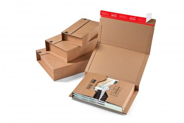 CP020.04 Buchverpackung DIN A5+ 251 x 165 x -60 mm Nutzmaß