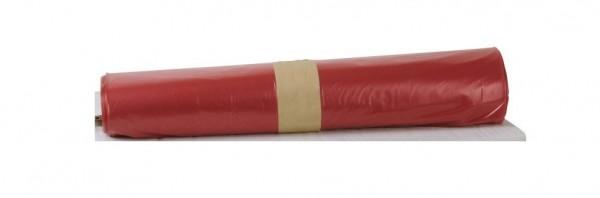 LDPE Müllsäcke 700x1100, rot - 250 Stück