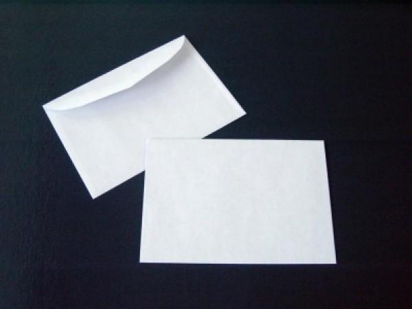 Briefumschlag 114 x 162 mm (DIN C6) Nassklebung - 1000 Stück