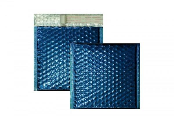 Luftpolstertaschen blau glänzend - 170 x 185 mm - 10 Stück