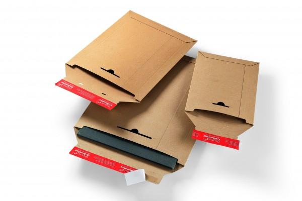CP014.05 Versandtasche Vollpappe 265 x 350 mm Außenmaß