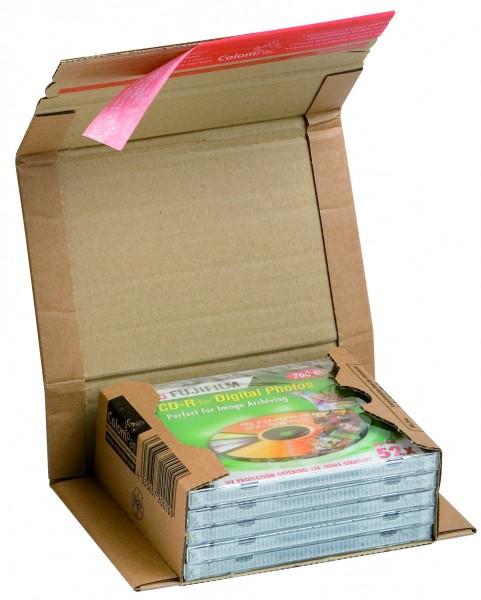 """CP020.01 Buchverpackung """"CD"""" 147 x 126 x -55 mm Nutzmaß"""