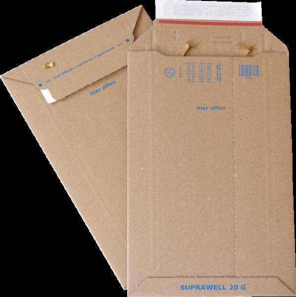 SW20 Versandtasche WP DIN A5 - 198 x 313 mm Außenmaß