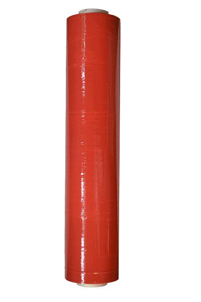 Handstretchfolie 23 µ - Breite 500 mm - ca. 260 lfm. rot