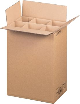6 er Flaschenverpackung 235 x 152 x 330mm