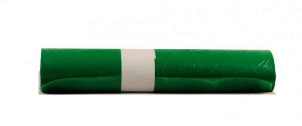 LDPE Müllsäcke 700x1100, grün - 250 Stück