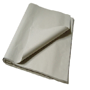 Packseide - Seidenpapier grau 37,5 x 50 cm, 25 kg - 25 g/m²